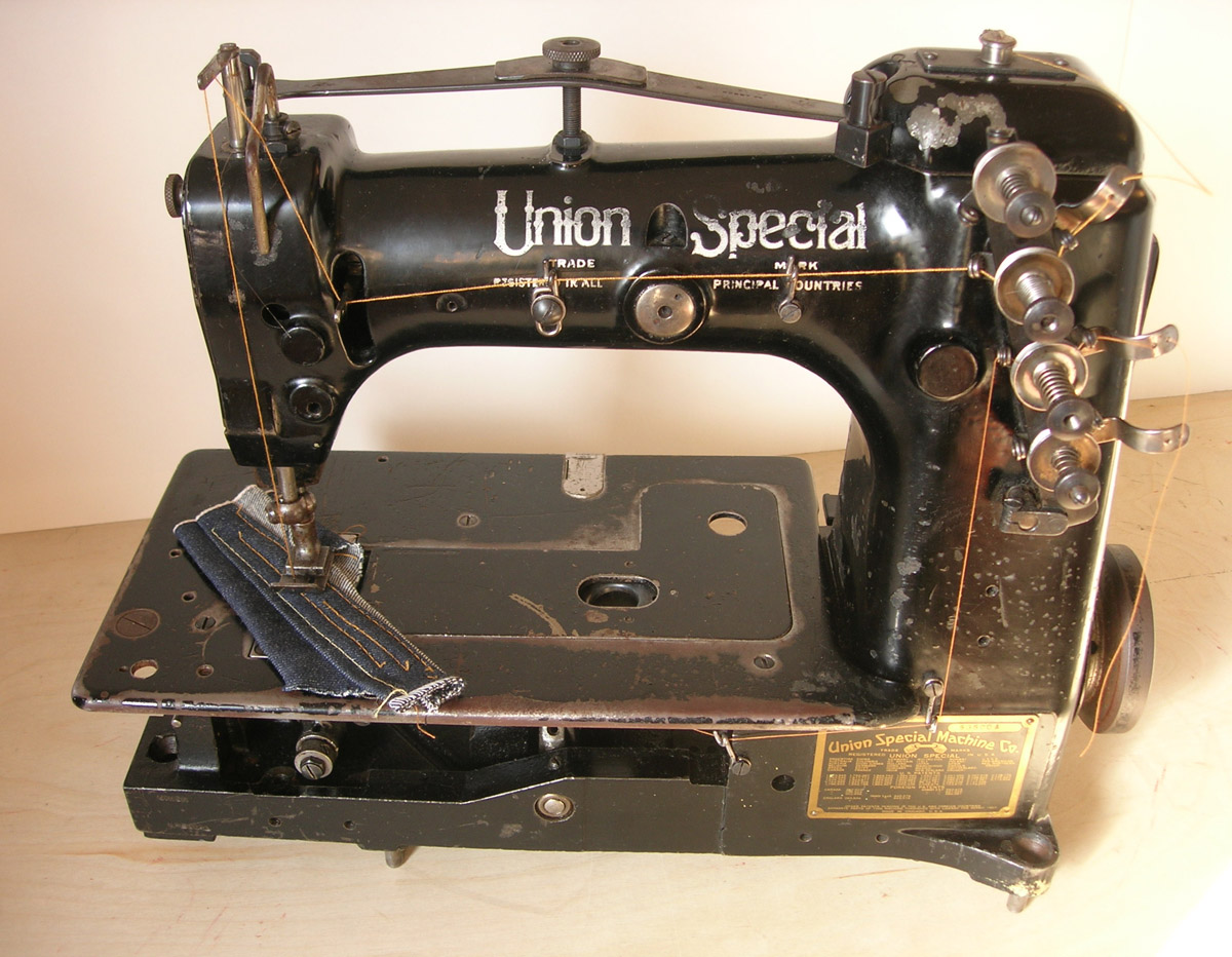 machine special union sewing Vintage