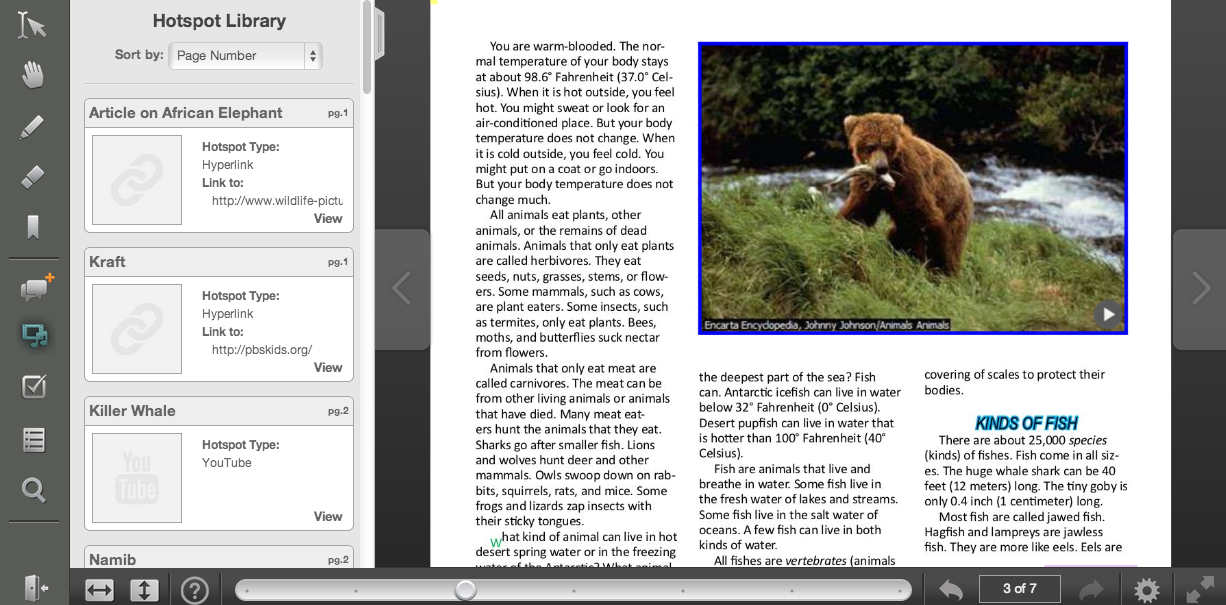 free technology for teachers active textbook turn pdfs into
