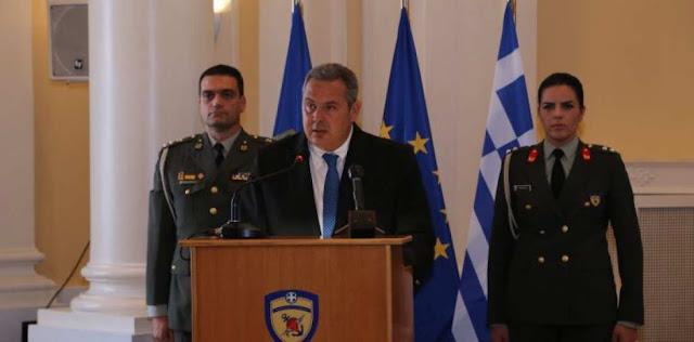 Π. Καμμένος: Σήμερα ως Ένοπλες Δυνάμεις, τιμούμε τον Ποντιακό Ελληνισμό