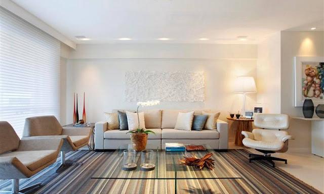 Cor moderna para sala de estar id ias for Sala de estar modernos