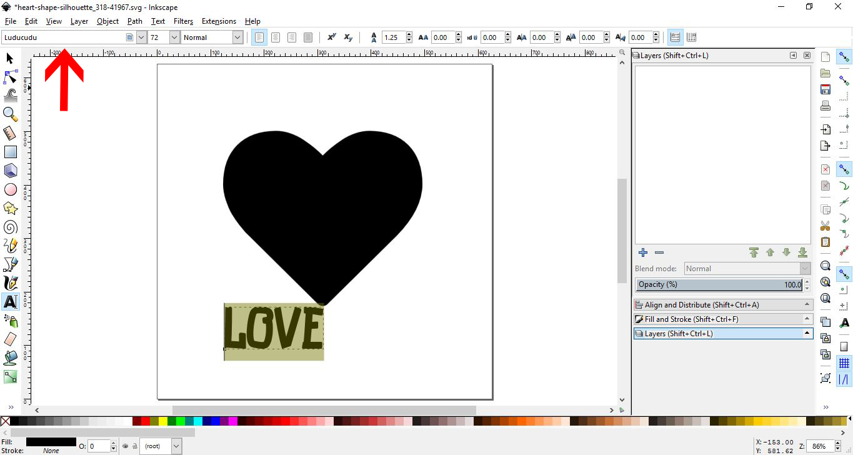 drop a pdf into inkscape
