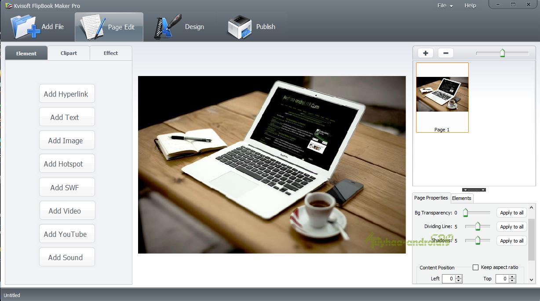Kvisoft FlipBook Maker Pro