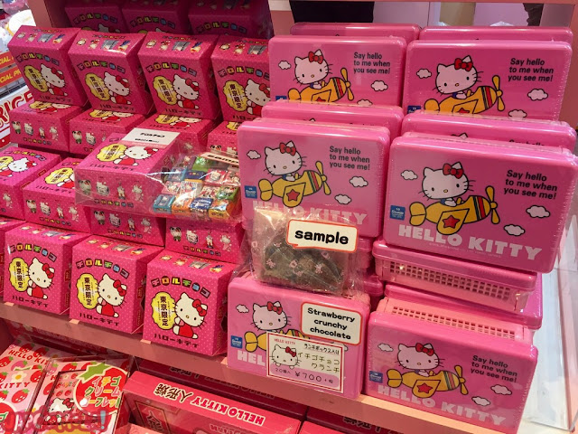 Cajas de chocolate de Hello Kitty