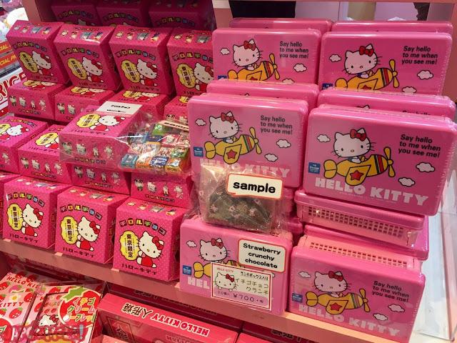 Cajas de chocolate de Hello Kitty