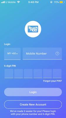 Cara Semak Baki Touch 'N Go Secara Online