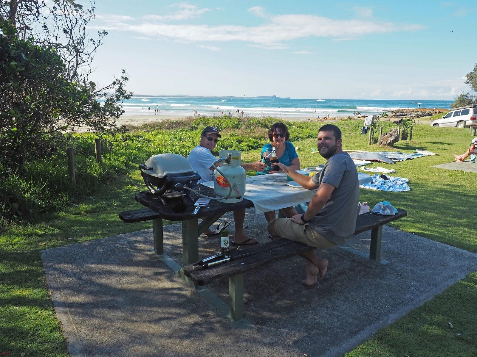 Family Picnic at Diamond Head