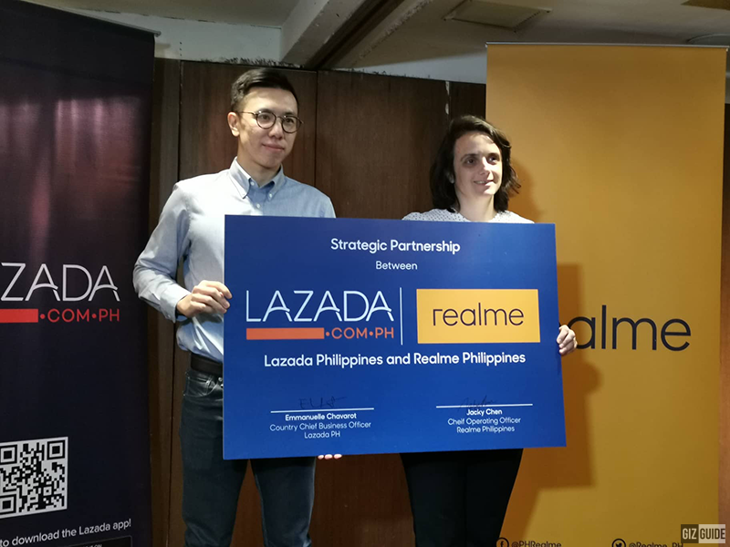 Realme is now an official partner merchant of Lazada!