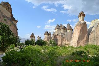 chamines de fada - capadocia turquia