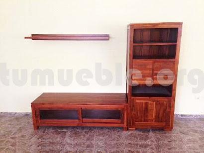 mueble modular teca m1
