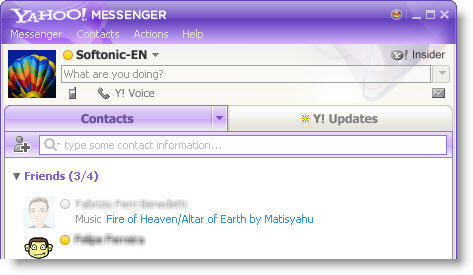 ياهو مسنجر بدون برامج Yahoo Messenger