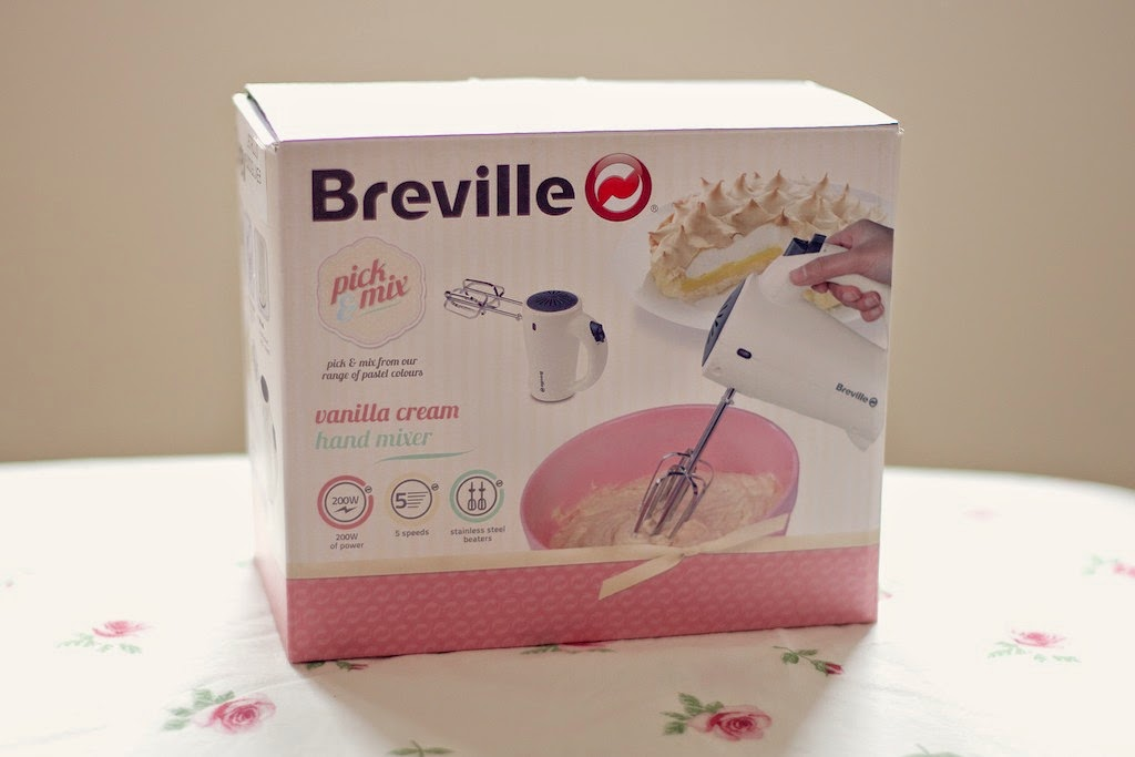 Breville Pick & Mix Electric Hand Mixer Box