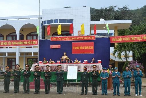 Lý Sơn: Tổ chức lễ ra quân huấn luyện năm 2016 - Hình 1