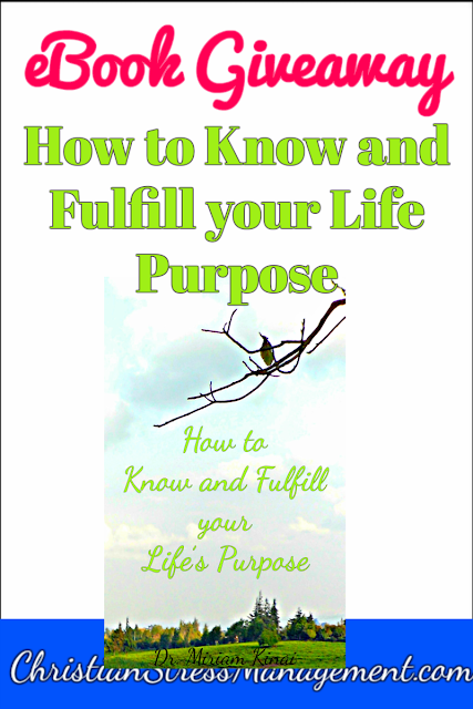 Free Christian Ebooks Giveaway How to Know and Fulfill your Life Purpose