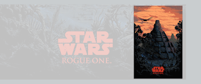 "Star Wars: Rogue One ""The Basis of Hope"" Screen Print by Kilian Eng x Bottleneck Gallery"