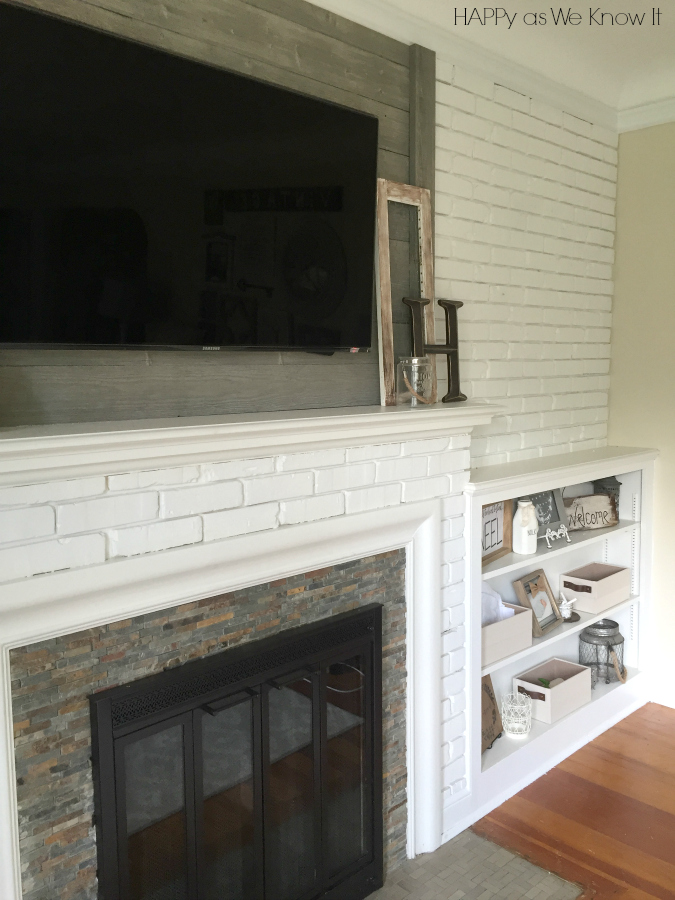Fireplace Remodel | Happy as We Know It