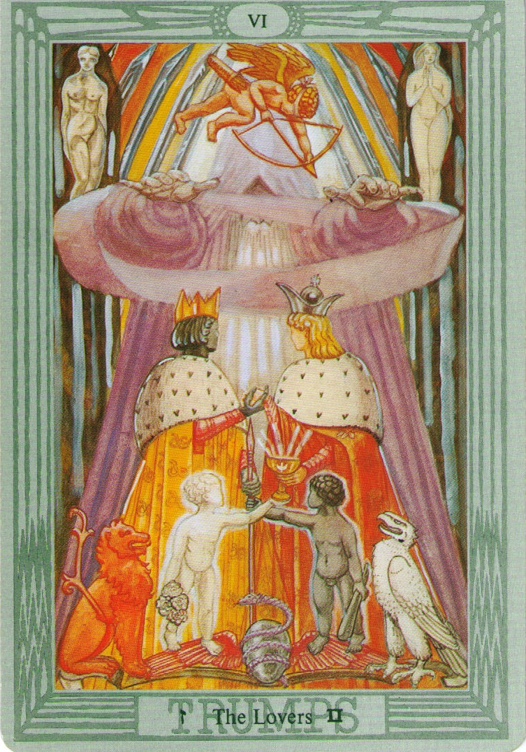 Thoth Fortune Tarot Card Tutorial: NYC Angelos