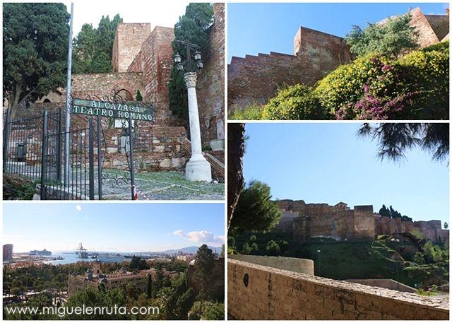 Alcazaba-Málaga-España