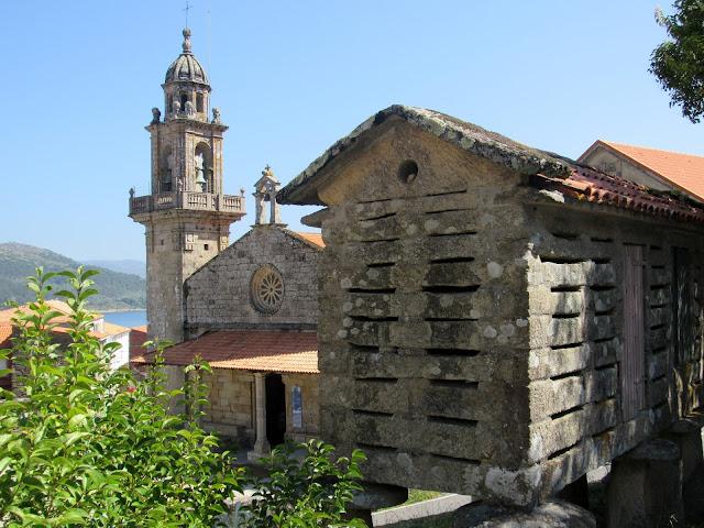 Colegiata de Sta. María en Muros