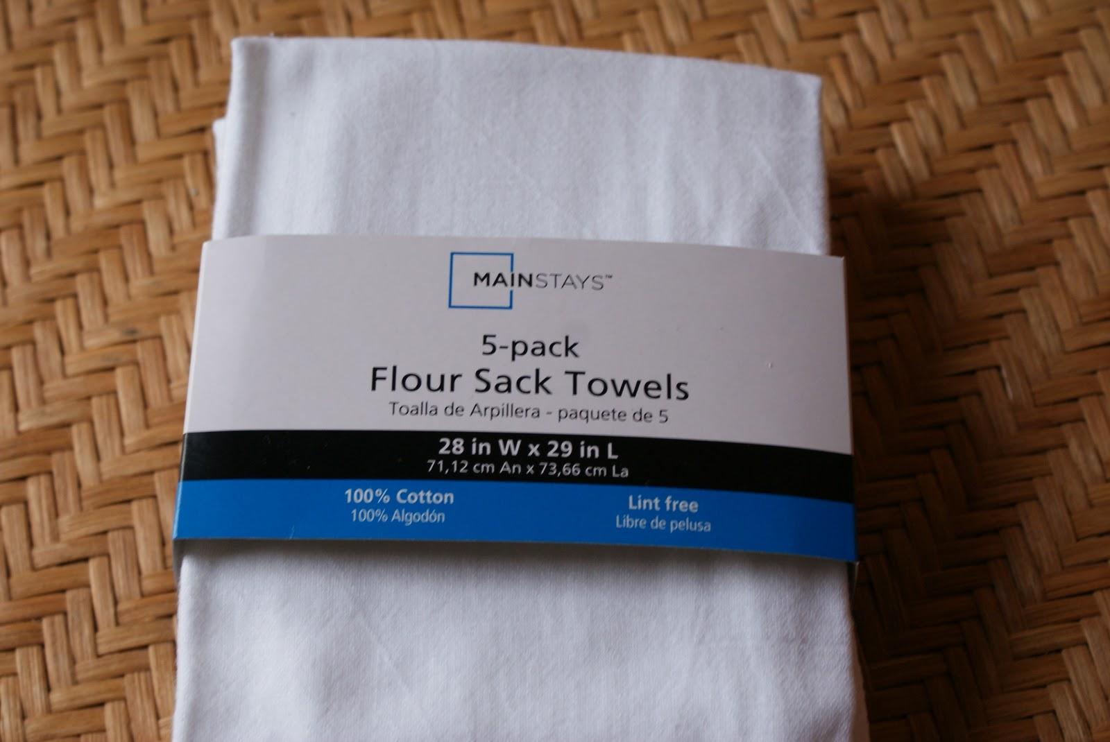 Our Hopeful Home: Monogram Flour Sack Pillow Tutorial