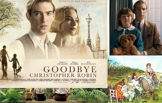 Goodbye Christopher Robin mini movie review Winnie The Poo