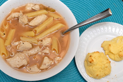 Quick Southwest Chicken Soup ~ An Artful Mom