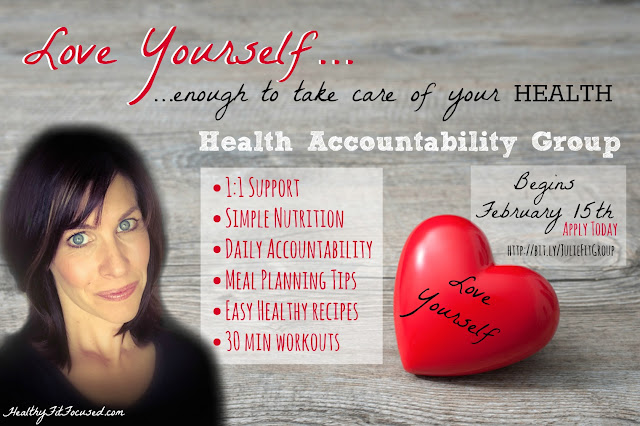 "♥ LOVE YOURSELF!! ♥ . Sounds Simple...but as women we give everything to others, and leave nothing for ourselves! . NOW, it's YOUR TURN! Your health is #1 most important! I'm looking for 10 women ready to make health their #1 goal! Get healthy for YOU & your family! . Want to: Lose Weight Get Healthy Create New Habits Get Fit Learn Healthy Recipes . **Only 10 spots: Apply Here-->bit.ly/JulieFitGroup REPIN if you're IN!! Comment ""APPLIED"" when you fill out the form!"