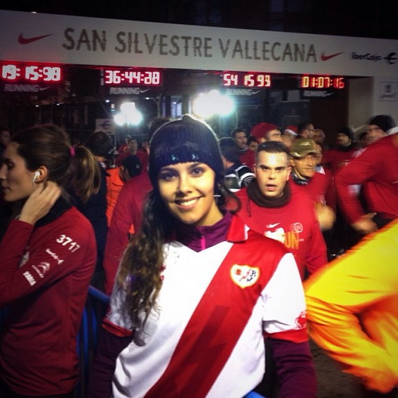 Rayo Vallecano fan Cristina Pedroch voted as world's most desirable woman