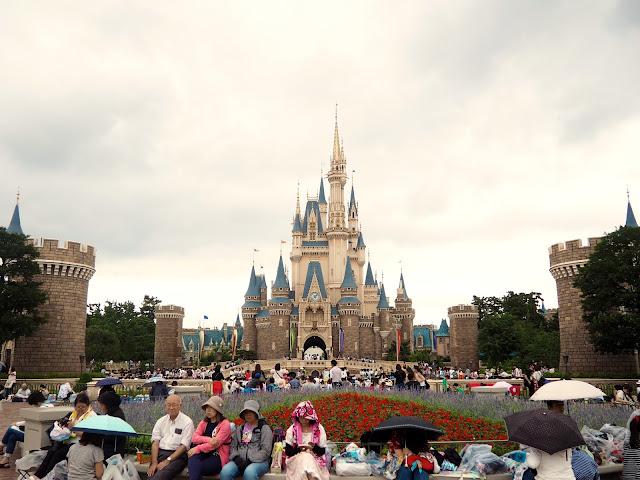 Cinderella Castle, Tokyo Disneyland, Japan