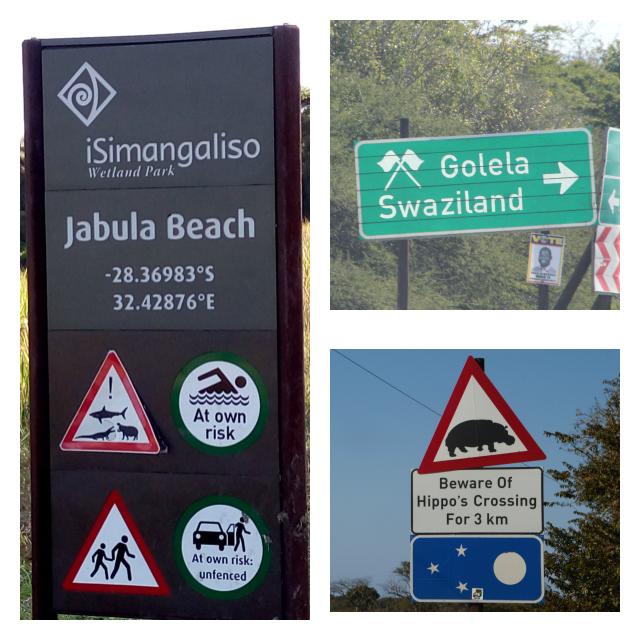 Señales de tráfico en Sudáfrica
