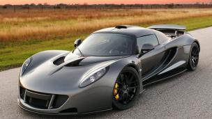 Gambar mobil tercepat di dunia-Hennessey Venom GT