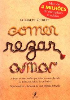 """Livro """"Comer, rezar, amar"""""""