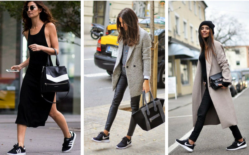 tendencias sneakers black