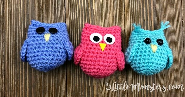 Owl Toy Crochet Amigurimi Owl Plush Crochet Toy Stuffed Owl ... | 373x710