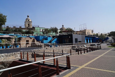 Parque de la Muralla, Knowing Lima, Historical Center, Walking Lima