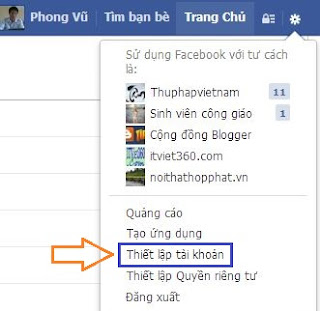 Cách đổi tên, thông tin trên Facebook (FB) - Hướng dẫn mới nhất, thiet lap tai khoan, settings account...