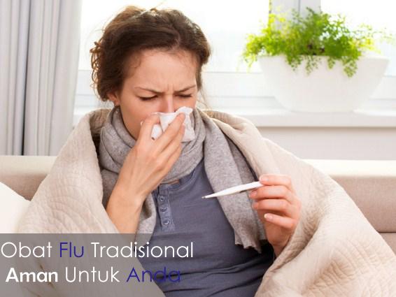 Obat Flu Tradisional yang Paling Ampuh