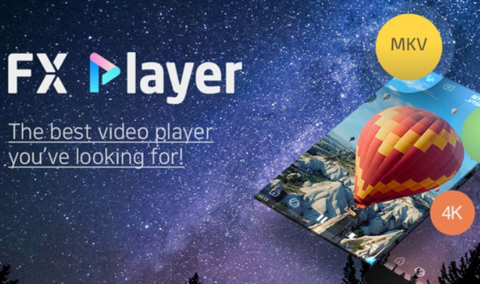 Aplikasi Pemutar Video tuk Android - FX Player