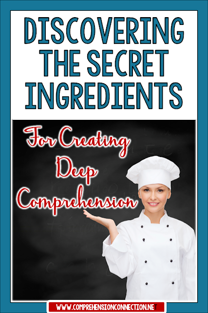 Discover the secret ingredients to creating deep comprehension with your students. This post includes how we analyze reading behaviors for progress monitoring and for guiding instruction. Includes a Reading Behaviors Checklist freebie.