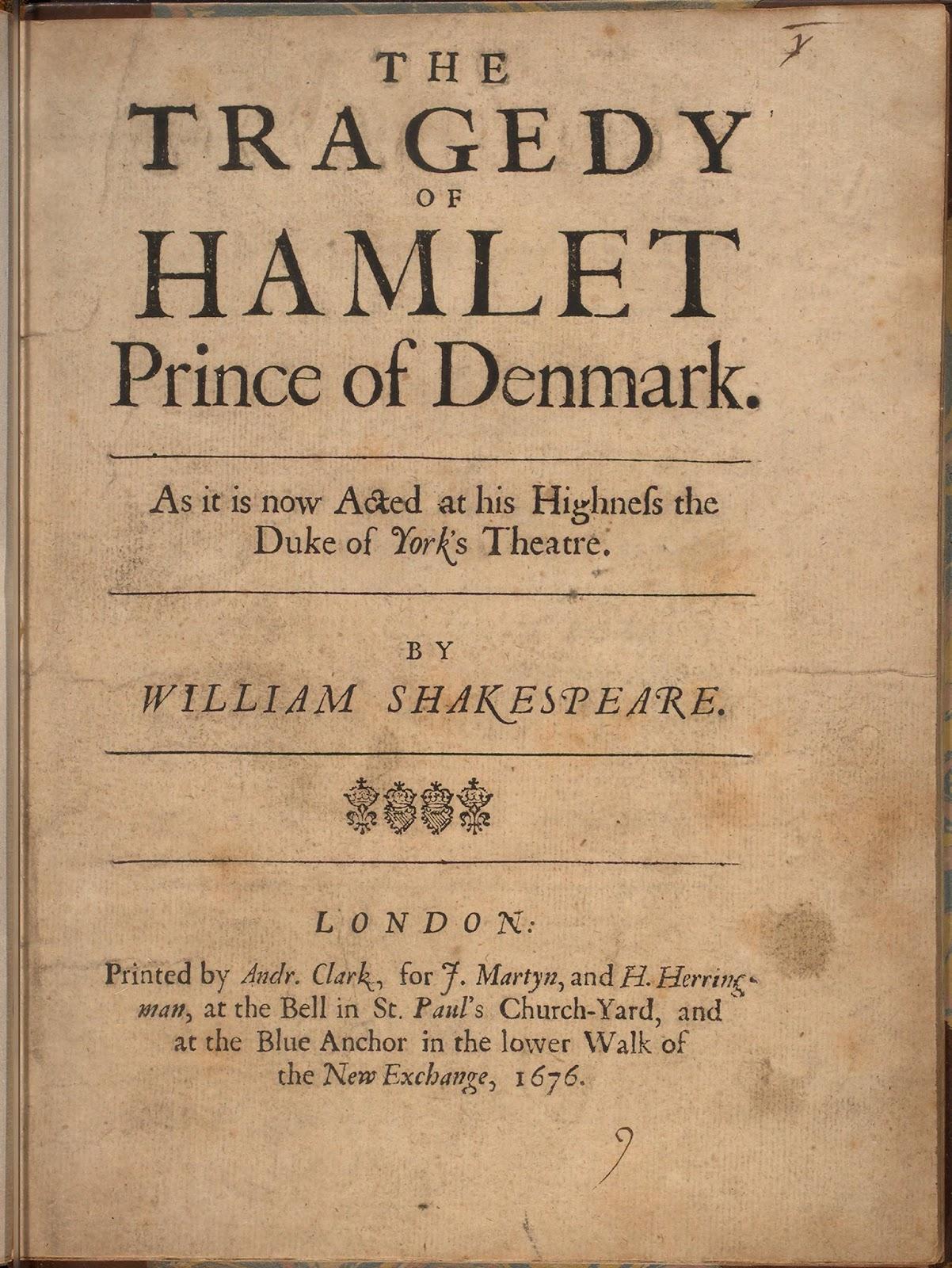 Fitxes De Lectura Hamlet William Shakespeare
