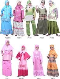 Baju Muslim Anak Bahan Kaos Tanah Abang