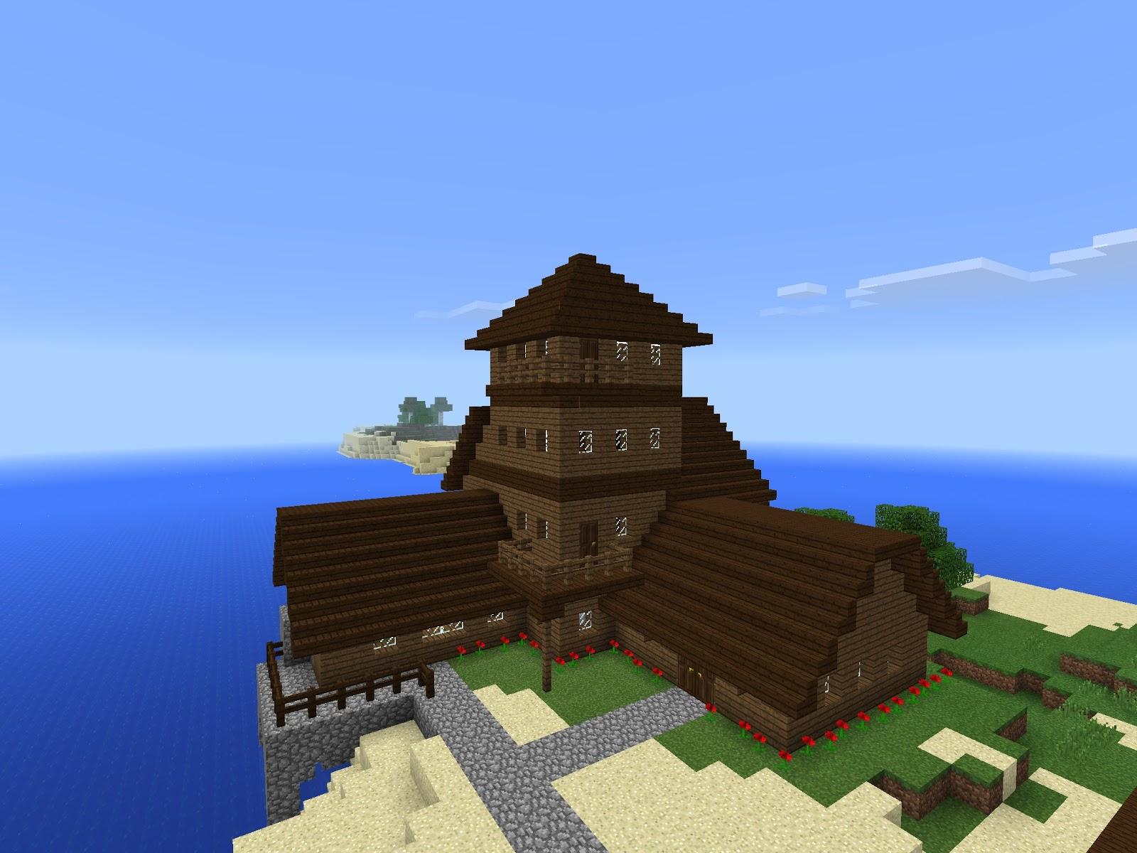 Craftywolf12 Minecraft Blog Epic House