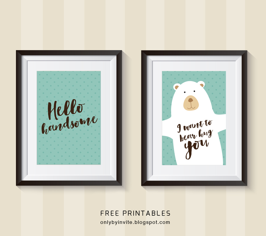 Free printables for happy occasions : DIY nursery room ...