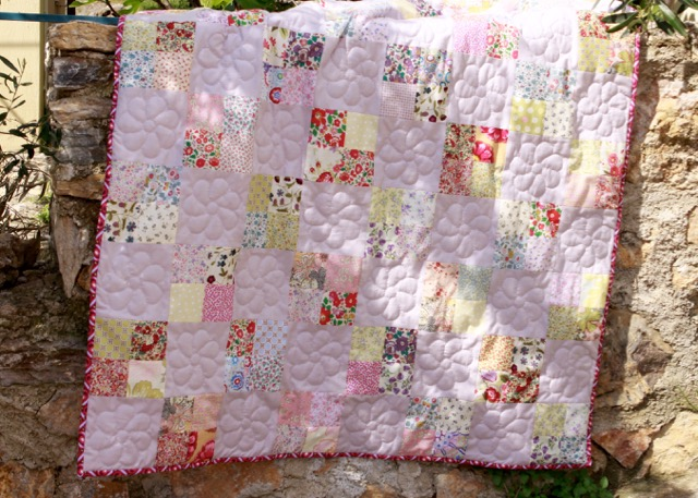 Liberty Four Patch Quilt