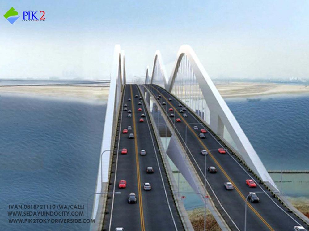 gambar jembatan pik 2
