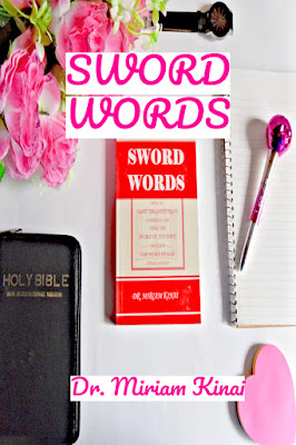 SWORD WORDS teaches you how to use the WORD of God which is the SWORD of the Spirit (Ephesians 6:17) to fight your spiritual battles.
