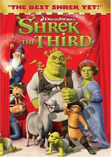 Shrek the Third (2007) Shrek DVD cover