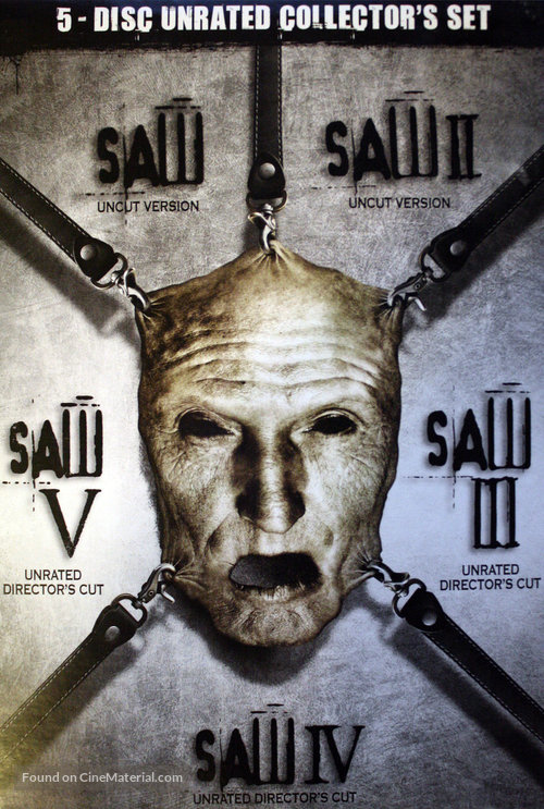Saw V (2008) Hindi Dubbed 250MB WEB-DL 480p ESubs