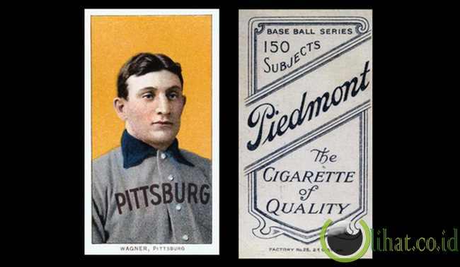 Kartu Baseball Honus Wagner 1909