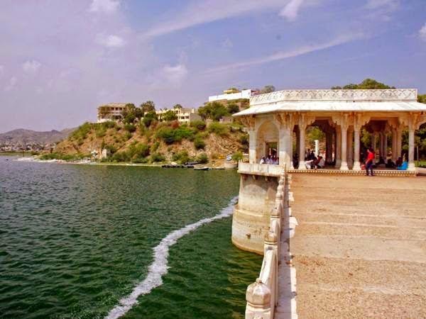 राजस्थान की झीलें एवं बाँध