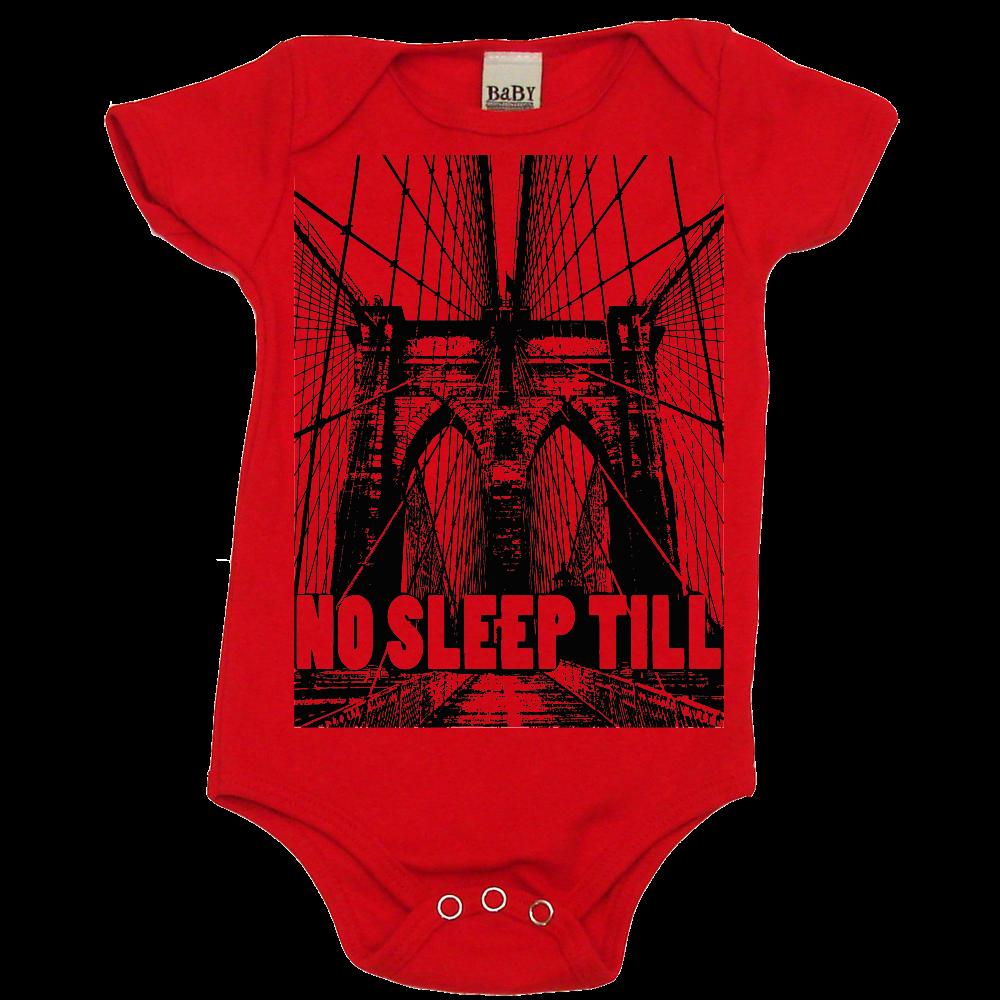 1205030b4 No Sleep Till Brooklyn Onesie   Cool Baby Clothes